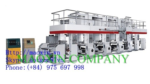 ELECTRIC AUTOMATIC FIVE COLOR PRINTING MACHINE